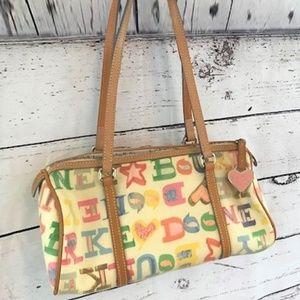 Dooney & Bourke signature multi mini duffle purse